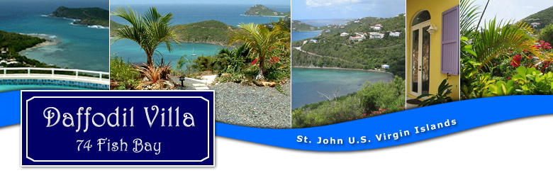 Daffodil Villa St John US Virgin Islands